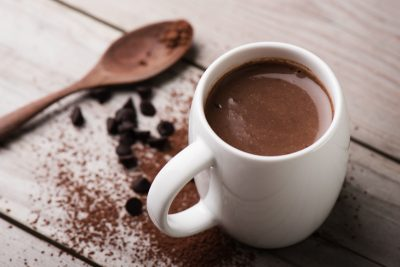 Healthy (Believe it or Not) Hot Chocolate