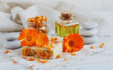 Beautiful Flowers for Beautiful Skin